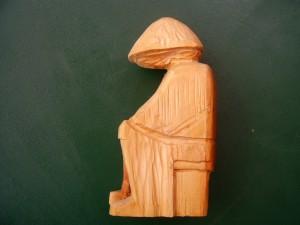 Träumer   aus Lindenholz  22 cm