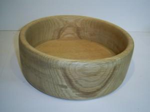 Holzschale aus Eiche   20,5 x 7,5 cm