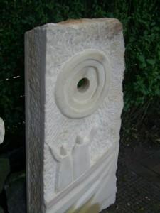 aus der Schöpfungsgeschichte Bentheimer Sandstein